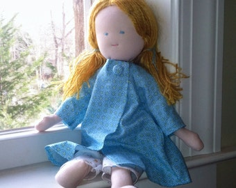 "Waldorf Doll 15"" Ready to Ship"