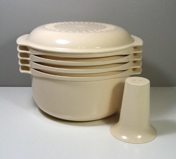Vente tupperware 6 pi ces empiler les cuiseur vapeur - Cuiseur vapeur tupperware ...
