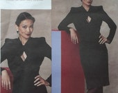 Guy Laroche Designer Misses Dress Vogue V 1133 Pattern, Size 14 to 20, Uncut