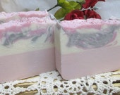 Goat Milk Soap, Geranio Rosa, Rose Geranium, Handmade, Cold Process, Mothers Day, Teacher gift, Moeggenborg Sugar Bush, hand made,