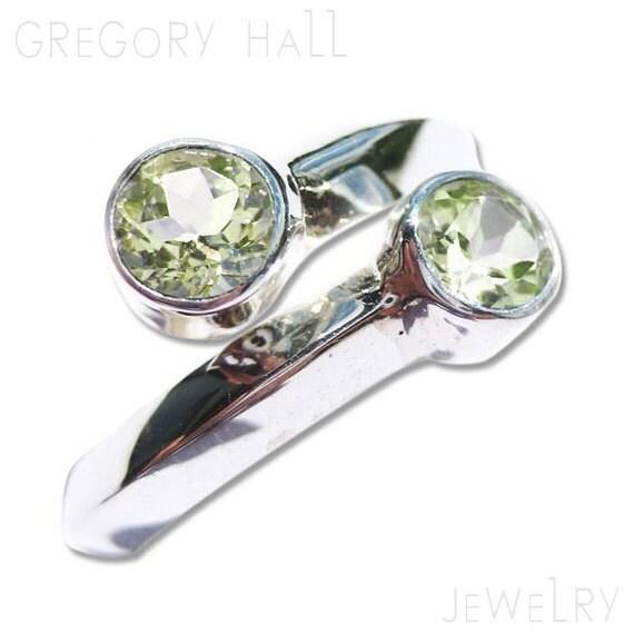 items similar to sterling silver ring green peridot
