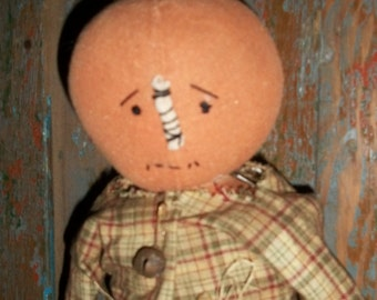 Steven Howaard a Boy Pumpkin Doll