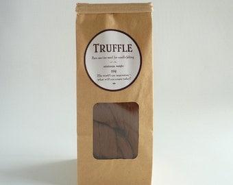 Chocolate brown merino roving, 25g, 1oz, 'Truffle', 21 micron, merino roving, brown merino tops, felting wool, needle felting, wet felting