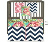 Custom Crib Bedding-3 piece- Love Blossom