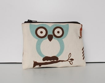 Little Zipper Pouch - Cute Owl