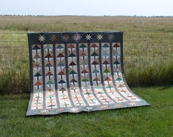 Trees on the Prairie quilt