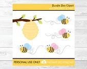 Bumble Bee Clipart Beehiv...