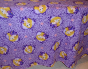 Rapunzel Blanket (Tangled)  58 inches by 45 inches