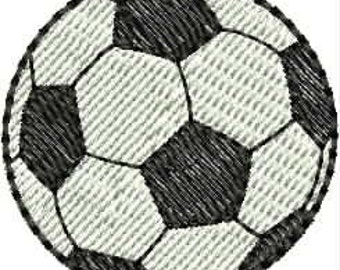 INSTANT DOWNLOAD Mini soccer ball embroidery designs