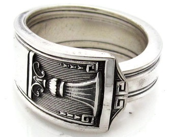 Silver Spoon Ring (All Sizes) Century Mens Jewelry