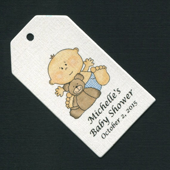 baby boy baby shower favor tags baby boy favor tags favor tag