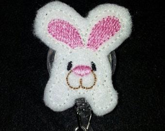 Bunny retractable badge pull