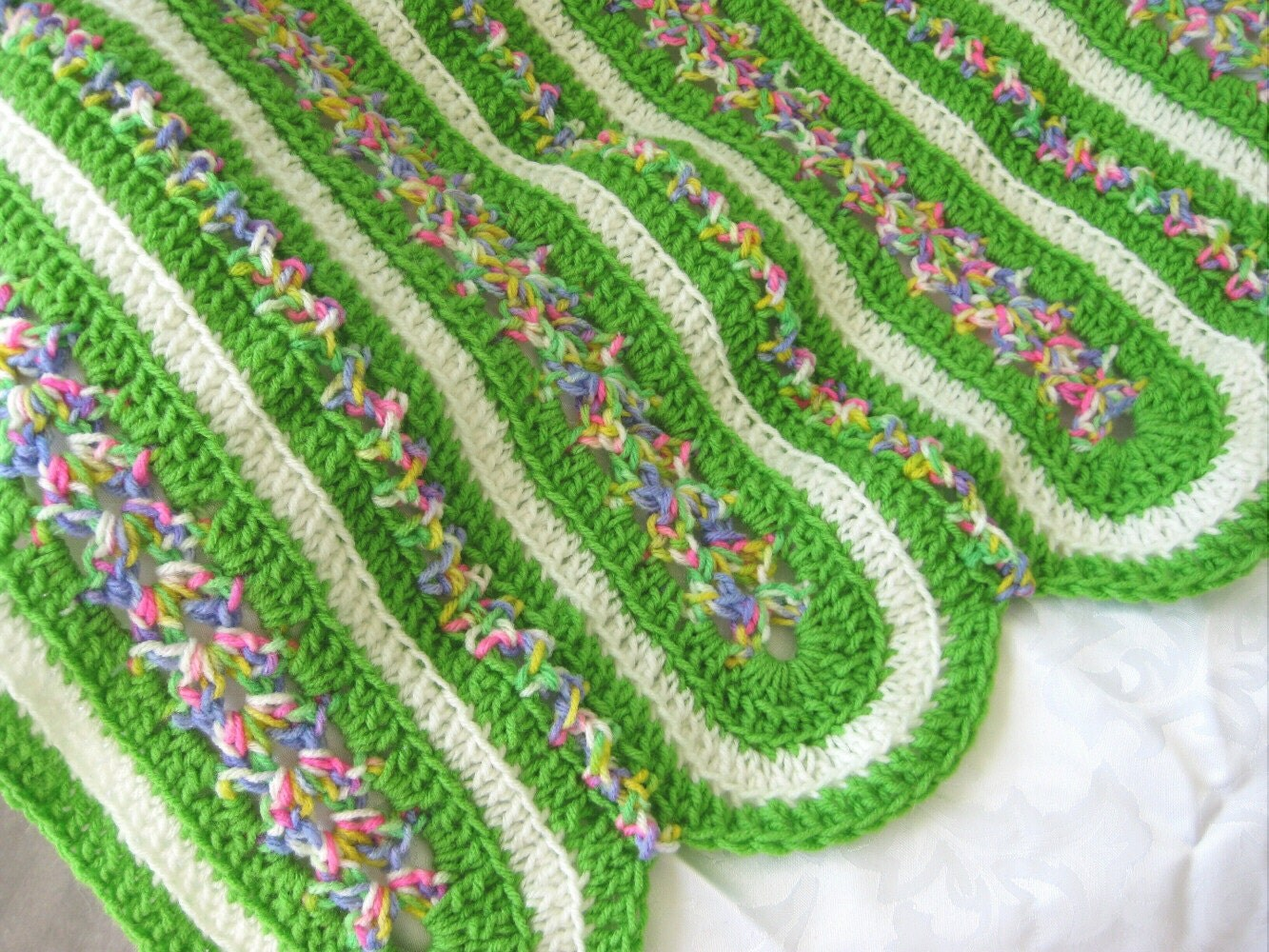 Quick And Easy Crocheted Baby Afghan Easy Crochet By