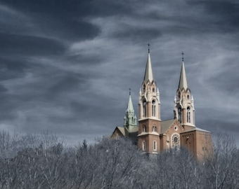 "6' x 9"" Photograph on Metallic Paper- Holy Hill"