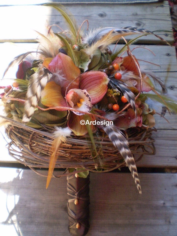 NATURES ORGANIC Nest Wedding Bouquet