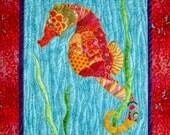Seahorse Fusible Applique Pattern