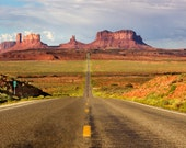 Still life print Monument Valley Utah, the Navajo Nation 10 x 20 print