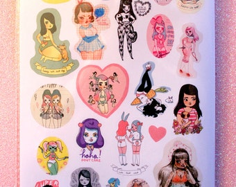 Sticker Heaven #2 - 23 Sticker Pack