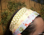 Gentle Harvest Collection Headband Wardrobe Set of Three Fox and Apples Daisies and Strawberry Flowers