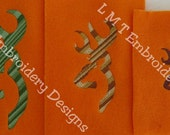 Buck and Doe  Embroidery Designs - 3 sizes
