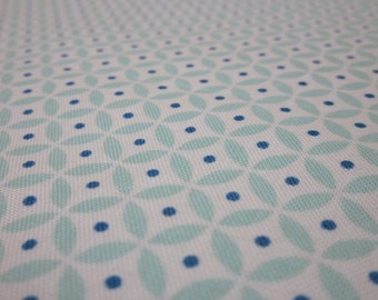 Riley Blake Blue Sandcastle Geometric Cotton Fat Quarter