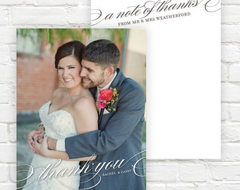 Wedding Photo Thank You Cards - Wedding Thank You Notes