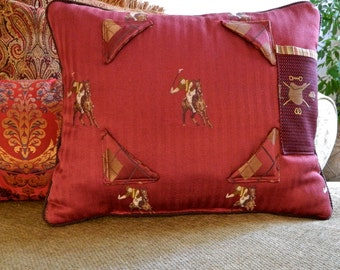 iPad Pillow Stand Tapestry Vintage Polo - One of a Kind