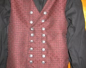 Custom made TODDLER size 2piece pirate Captain Hook Killian From Once Upon A Time  shirt and vest costume