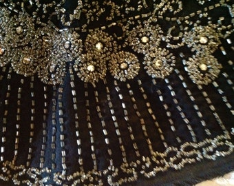 Lovely Vintage Glass Micro beaded Collar -