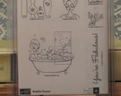 Stampin Up Bubble Queen 2005 Stamp Set