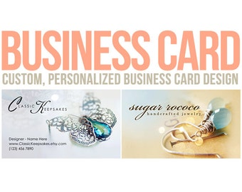 Business card design - custom business card ooak calling card personalized winchesterlambourne winchester lambourne