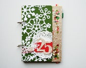 LAST ONE Merry and Bright: Holiday Journal December Daily Mini Album Kit