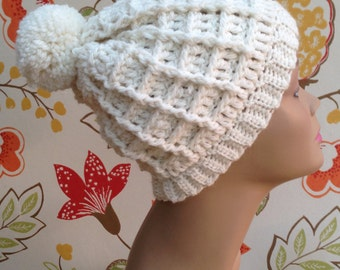 Crochet Pattern for Cable Hat Design (instant download)