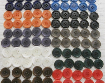 1000 BUTTONS DOUBLE BULK seamsters alterations kid's crafts schools free ship