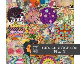 Circle Stickers No. 3