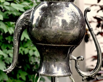 Wind Chime - Very Beautiful, Vintage Tea Pot Wind Chime
