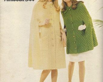 Cape Caper Knitting Pattern Booklet PDF