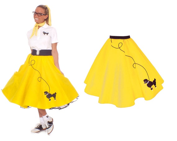 Poodle Skirts. Showing 40 of results that match your query. Search Product Result. Product - Poodle Socks Adult Halloween Costume Accessory. Product Image. Price $ 3. Product - Blue Poodle Skirt 50's Scarf Sock Hop 's Retro Grease Sandra Dee Adult. Product Image. Price $ .