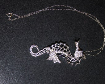 Let's go to the Beach Seahorse Necklace