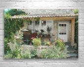 Garden Art, French Cottage, Garden Photography, France Photography, 8 x 12, 11 x 17, 16 x 24, Murray Bolesta, Aquitaine, Gironde