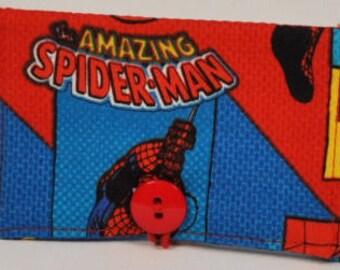Fabric Business Card Holder Marvel Spiderman