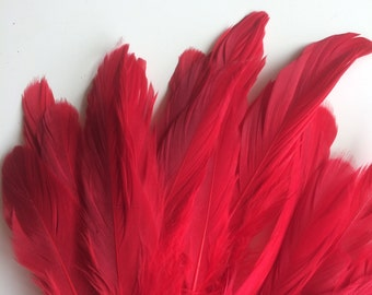 VOGUE GOOSE NAGOIRE Loose Feathers  / Flamenco Red / 283