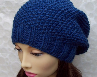 Knit Hat Patterns Not In The Round : Popular items for handknit hat pattern on Etsy