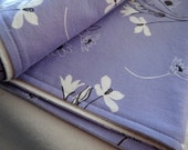 Large Custom ORGANIC Cotton Double-Sided Blanket, Fabric Your Choice
