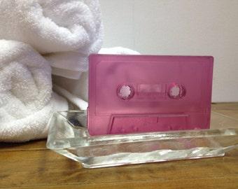 Mixed tape soap black cherry
