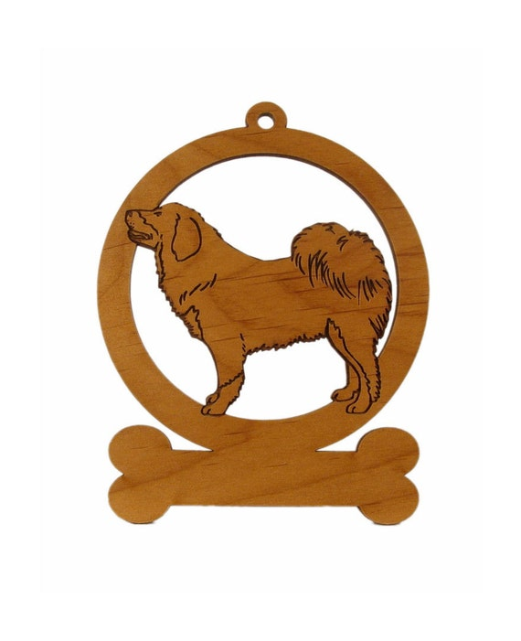 Tibetan Mastiff Stack Dog Ornament 084163 Personalized With Your Dog's Name