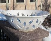Wedding Ring Holder - White as Snow Bowl - Handmade Pottery