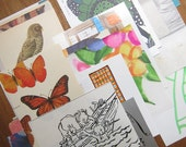 Original Mix - drawing and print collage kit (1 set of paper stock)