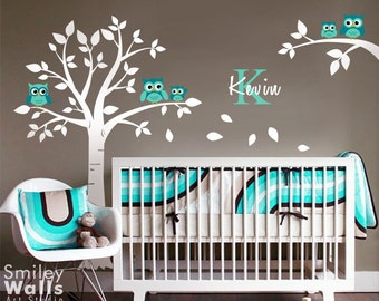 SMILEYWALLS Wall Art For Nursery And Kids Rooms By Smileywalls - Personalized wall decals for nursery