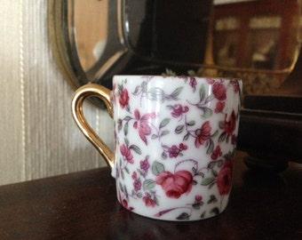 Small chintz Demitasse cup